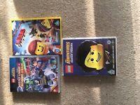 LEGO DVD's