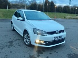 Volkswagen Polo Match 1.0 75ps 3dr in white