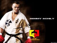 First Full Contact Fighting Seminar with Semmy Schilt 4x K1 WORLD CHAMPION