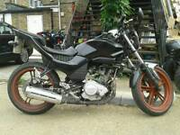 yamaha ybr 125 project bike
