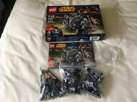 LEGO 75040 Star Wars General Grievous' Wheel Bike Set (Used) Collect Only