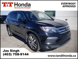 2016 Honda Pilot Touring* One Owner, DVD, Navi, Rear Camera*
