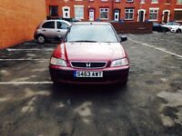 Honda Civic 1.5 Vtec ( 5 Door)