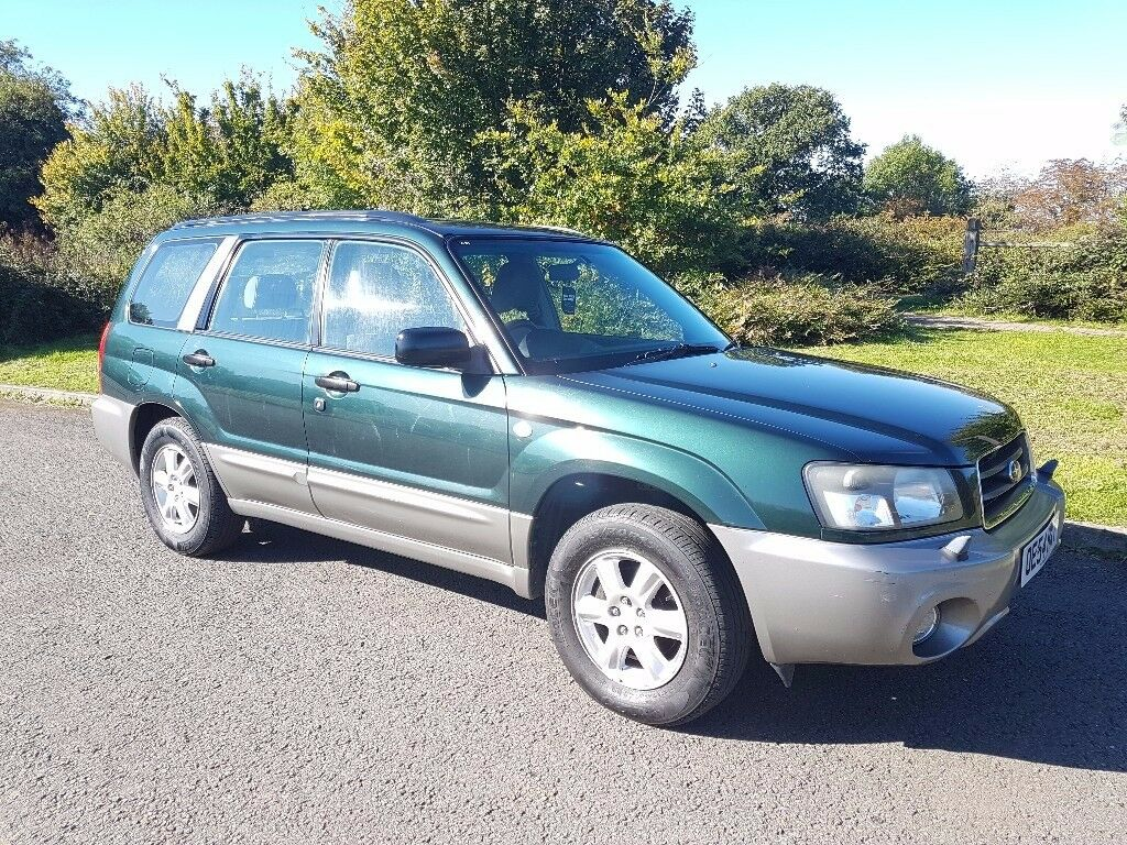 54 REG SUBARU FORESTER 2.0 X PETROL AUTOMATIC 106K WITH F/S/H LONG MOT IN V/G/C
