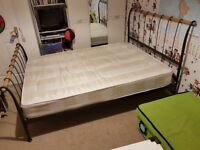 Double bed with good quality and comfortable mattress