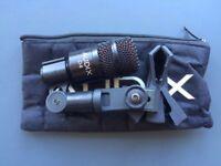 Various Audix microphones (D2, D4, 2 x OM6, OM7)