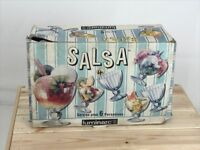 Set of Six Vintage10oz Glass Ice Cream Bowls Luminarc Salsa