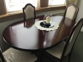 FOR SALE - Dining Table and Four Chairs - £50 **PRICE REDUCTION**