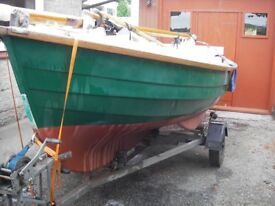 Loch Broom Post boat cruising dinghy.View East Anglia. £4750.