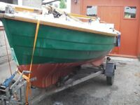 Loch Broom Post boat cruising dinghy.View East Anglia. £4000.