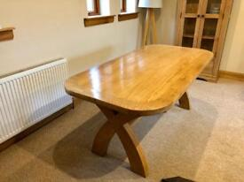 Country Oak Dining Table