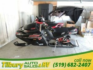 2005 AD Boivin Snow Hawk 600 HO. SINGLE SKI SLED.