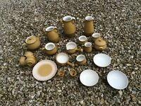 VINTAGE RETRO DENBY ODE coffee tea pot cup bowls egg cups - PICK & MIX from £1 - £6 PER ITEM