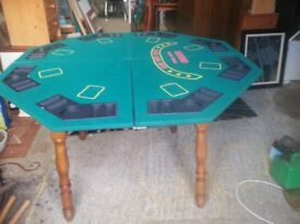 poker or round dining table table