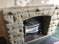 Yorkshire Stone fireplace