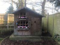 Kids garden wooden playhouse (play house)