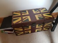 Union Jack Rustic Looking Trunk £15