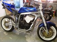 1990 GSXR 750 streetfighter project
