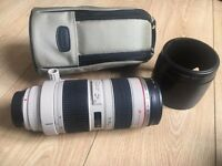 Canon EF 70-200 Zoom Lens 70-200mm F2.8L