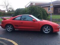 1998 TOYOTA MR2 GT 16V RED FULL MOT REV 5 T- BAR