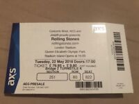 Rolling Stones - No Filter Tour - Tue 22nd May - Olympic Stadium