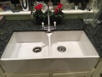 Kitchen Butler Sink with Mixer Tap