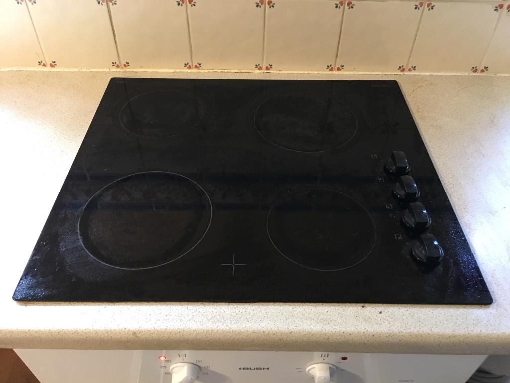 bush schott ceran 4 ring ceramic electric hob in horsforth west yorkshire gumtree. Black Bedroom Furniture Sets. Home Design Ideas