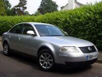 Volkswagen Passat 1.9 TDI (Diesel) Highline 4dr Saloon 2004 (04 reg),F/S/History,Leather,Warranty