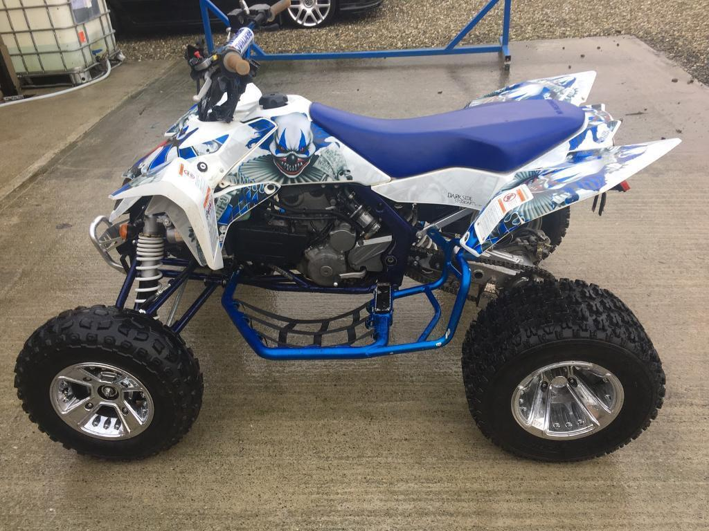 suzuki ltr 450 road legal quad race quad banshee trx yfz in limavady county. Black Bedroom Furniture Sets. Home Design Ideas