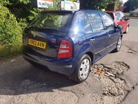 """2000 """"X"""" SKODA FABIA 1.4MPI 8V 5DR 12 MONTH MOT PX WELCOME MORE CARS IN STOCK"""