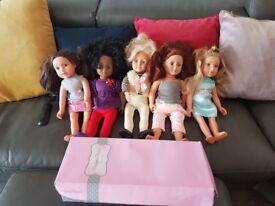 Designer dolls collection