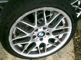 BMW FITMENT 18 INCH ALLOYS,,CSL REPS,,,EACH £80 SET4 £220