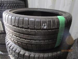 235/35R19 SINGLE ONLY USED CONTINENTAL WINTER TIRE