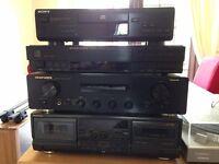 Marantz Hifi system - Amp & Tuner (plus CD player and tape deck)