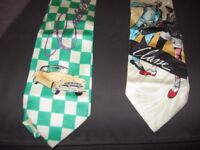 Man Contemporary Art Tie