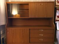 Retro sideboard storage unit drinks cabinet cupboards drawers