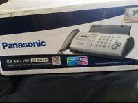 Panasonic KX-FP215E Fax Machine
