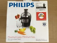 JUICER: with manufacturers warranty