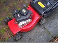 PETROL ROTARY MOWER AND GRASSBOX