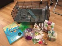 Large hamster cage and more