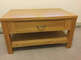 Tavistock solid oak coffee table bought from Gillies of Perth in excellent condition.