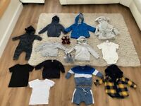 Baby boy clothes bundle 6-9 months