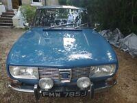 1971 Saab 99 1854cc 87hp LHD 37000Km Middle Blue