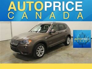 2013 BMW X3 xDrive28i PANORAMIC ROOF|LEATHER|XENON