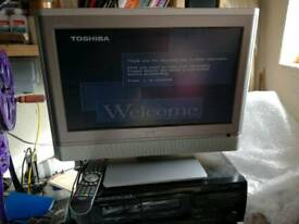 "TOSHIBA 20WTL56B 20"" widescreen LCD tv"