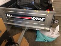 New - Erde car trailer model 102