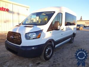 2015 Ford Transit Wagon XL 10 Passenger, Back-Up Cam, 16,155 KMs