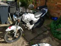 Yamaha YBR125. DOES NOT RUN