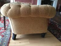 Victorian Chesterfield sofa large