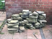 Free - Broken Rockery Rocks / Slabs / Bricks